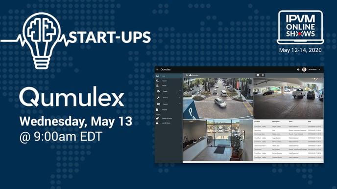 Qumulex at IPVM Online Show May 12-14